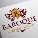 Baroque Logo Template