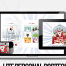 Xmas Mini - Illustrated, Onepage Personal Theme