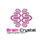 Brain Crystal Logo