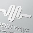 Modern Wave • Letter M Logo Template
