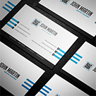 Clean White Business Card_02