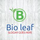 bio leaf business logo