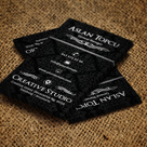 Decorative & Elegant Business Card