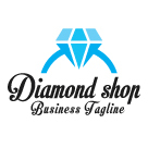 Diamond Shop Logo Template