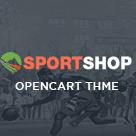 Pav Sportshop - Responsive Opencart theme