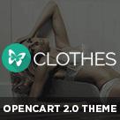 Pav Clothes - Responsive Opencart theme