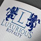 Luxurious L Letter Logo