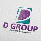 Degroup D Letter Logo