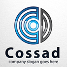 Cossad - Letter C & D Logo