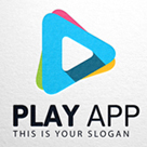 Play App, Abstract Play Logo