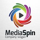 Media Spin - Abstract Logo