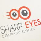 Sharp Eyes - Fun Logo