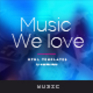 Music Multi/One Page HTML Template