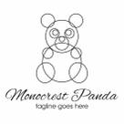 Monocrest Panda Logo