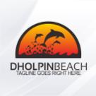 Dholpin Beach Logo