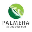 Palmera - Palm Leaf Logo