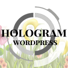 Hologram WordPress Personal Blog Theme