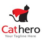 Cat Hero Logo