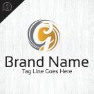 letter g logo template grand