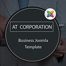 AT Corporation – Company / Corporation Joomla! template