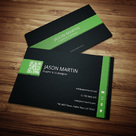 Multicolor Corporate Business Card