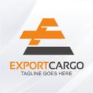 Export Cargo - Letter E Logo