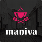 Restaurant Cafe WordPress Theme - Maniva