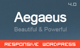 Aegaeus - Ultimate Multi-Purpose WordPress Theme