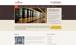 Attorneys – Lawyer WordPress Theme