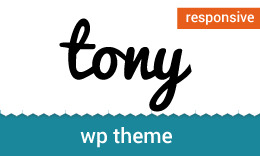 Tony - Responsive Multipurpose WordPress Theme