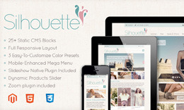 Silhouette Fashion Magento Template