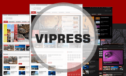 Vipress - Blog, Magazine and Video WordPress Theme