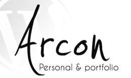 Arcon - Personal Portfolio & Blog WordPress Theme