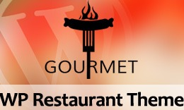 Gourmet - Restaurant & Pizzeria WordPress Theme