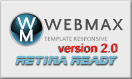 WebMax HTML5/CSS3 Responsive Template Retina Ready