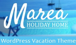 Marea – Holiday, Hotel  & Travel WordPress Theme