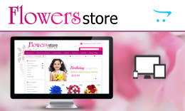 Flower Store - OpenCart Responsive Theme