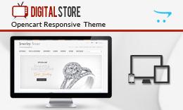 Digital Store - Responsive OpenCart Theme