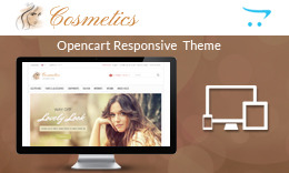 Cosmetics - Responsive OpenCart Theme