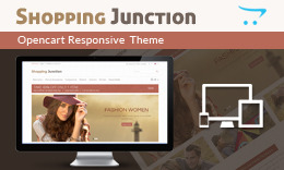 Shopping Junction - OpenCart Responsive Theme