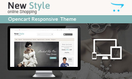 New Style - Responsive Opencart Theme