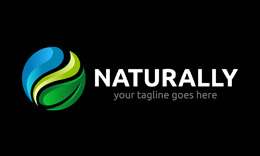 Naturally Logo Template