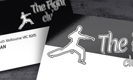 The Fight Club Business card