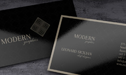 ModernGraphic Business Card