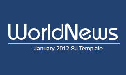 SJ WorldNews - Atractive Joomla Template for News Portals