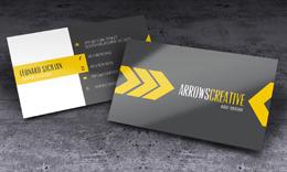 Arrows Creative Business Card
