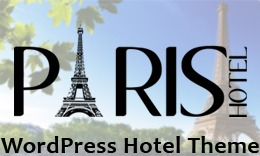 Paris - A Responsive WordPress Hotel Theme with Booking Function