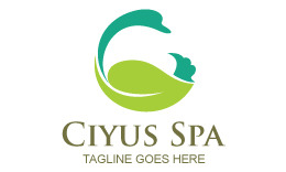 Ciyus Spa Logo Template