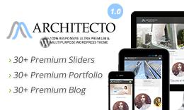 Architecto - Premium Responsive Architect WordPress Theme