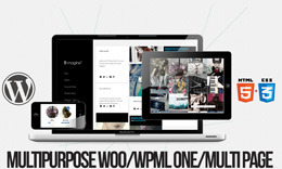 E-Magine: WPML, WooCommerce, One/Multi Page, Multipurpose Masonry Theme